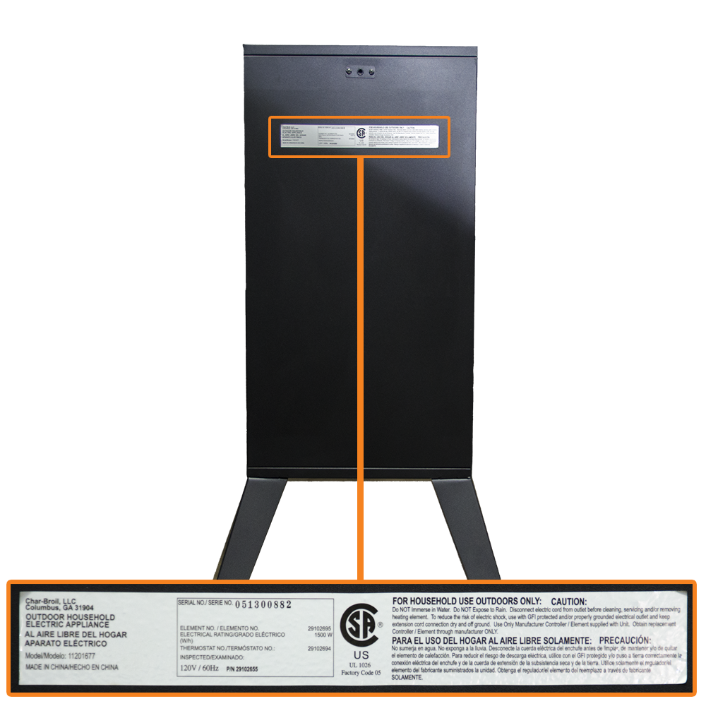 Vertical Electric Smoker Location